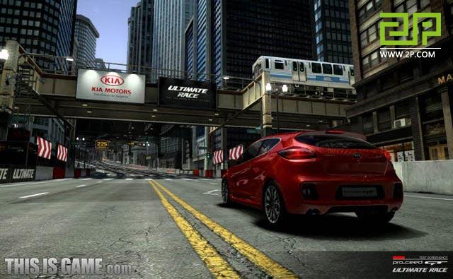 Game đua xe đẹp mắt Ultimate Race chuẩn bị mở cửa