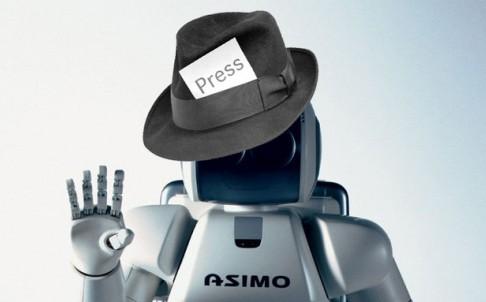 Trong tương lai không xa, chúng ta sẽ được đọc những bài báo chính thống do chính tay robot viết ra.