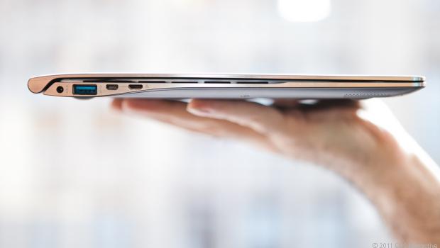 Notebook và Ultrabook có những cải thiện về thiết kế không thua kém Tablet.