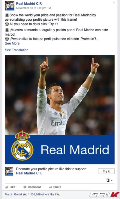 Từ tuần trước, người hâm mộ của Real Madrid và Barcelona đã có thể sử dụng tính năng này