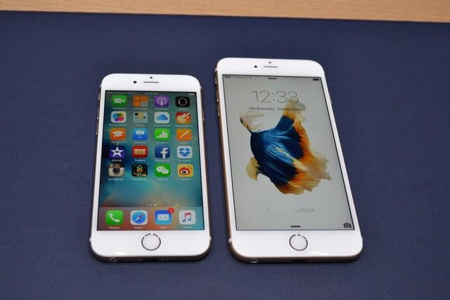 Màn hình iPhone 6s cũng chỉ đạt mốc 326 ppi
