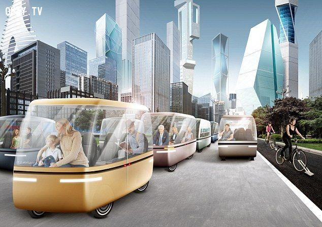 Tình hình giao thông năm 2045.