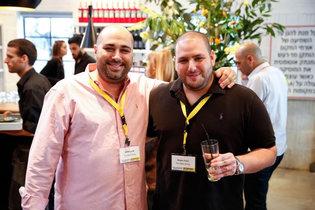 Nhà sáng lập NSO Group Omri Lavie (trái)