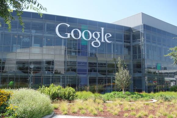 Một tòa nhà của Google trong khu Mountain View, California.
