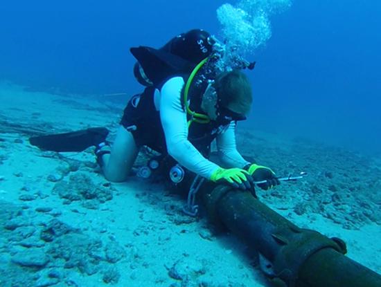 Tuyến cáp quang biển quốc tế AAG được được vào phục vụ từ năm 2009. (nguồn ảnh: Internet)