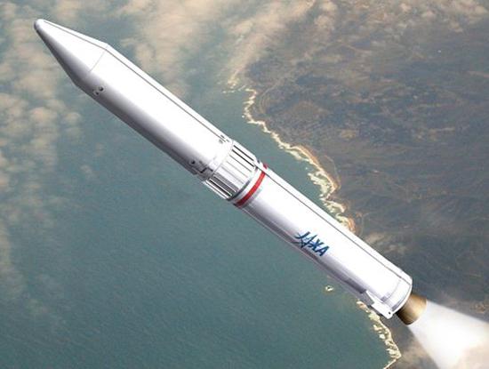 Tên lửa Epsilon của Nhật Bản sẽ mang theo vệ tinh MicroDragon của Việt Nam lên quỹ đạo (Nguồn ảnh: JAXA)