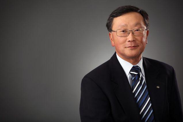 CEO John Chen của BlackBerry.