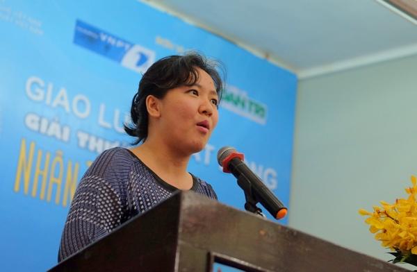 Bà Lê Diệp Kiều Trang, Giám đốc chiến lược Misfit Wearables, chia sẻ trong hôm 10/6 - Ảnh: H.Đ