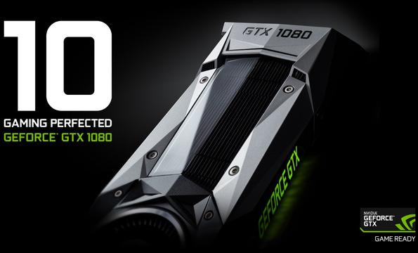 Chiếc NVIDIA GeForce GTX 1080 dựa trên tiến trình 16nm FinFet với 2560 nhân CUDA. (Nguồn: NVIDIA)