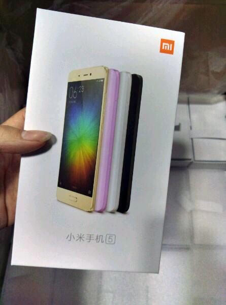 Vỏ hộp được cho là của Xiaomi Mi 5 lộ diện trước giờ G.