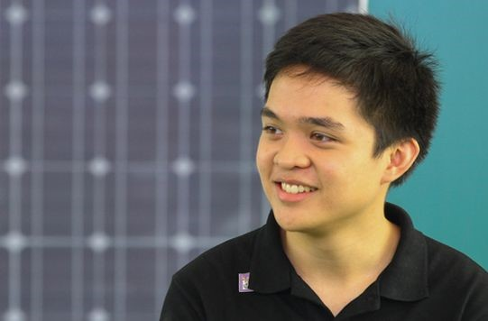 Leandro Leviste - CEO của Solar Philippines - người đi đầu trong ngành công nghiệp năng lượng mặt trời tại Philippines.
