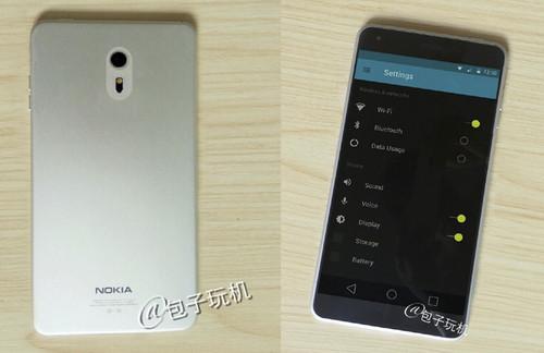 Ảnh thực tế được cho là smartphone Nokia C1 trước đây.