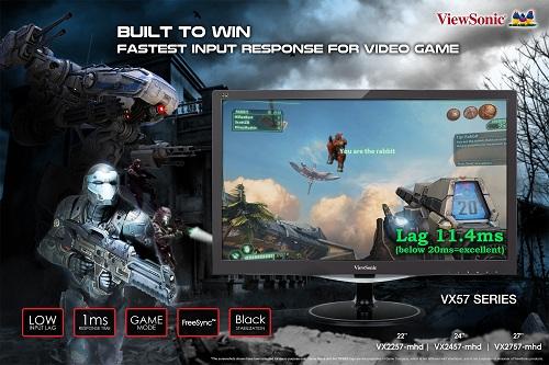 Màn hình chuyên game ViewSonic VX57.