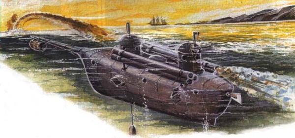 Tàu ngầm thế kỷ XIX