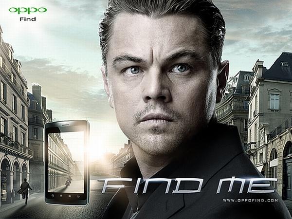 Không chỉ Sơn Tùng MTP mà nam diễn viên Leonardo DiCaprio bị thương hiệu Oppo Mobile lôi kéo làm gương mặt đại diện cho hãng