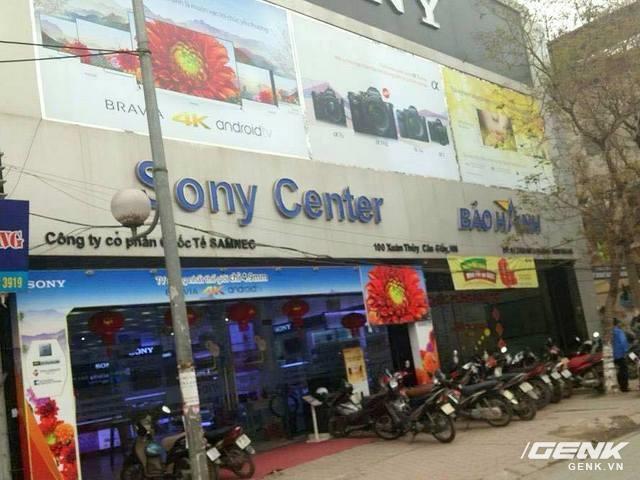 Địa chỉ số 100 Xuân Thủy, Dịch Vọng Hậu, Cầu Giấy, Hà Nội chính là Sony Center hiện nay.