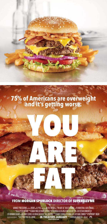 15. Poster nhìn là đã thấy tham ăn tục uống đúng chất xôi thịt người Mỹ.