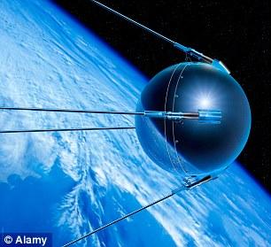 Vệ tinh Sputniik, vệ tinh đầu tiên của con người.