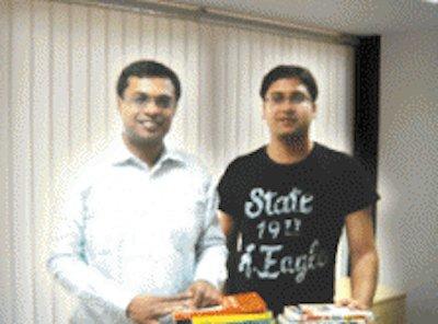 Sachin và Benny Bansal.