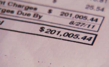 201.005,44 USD là con số cụ thể của hóa đơn điện thoại tháng trong tình huống này.