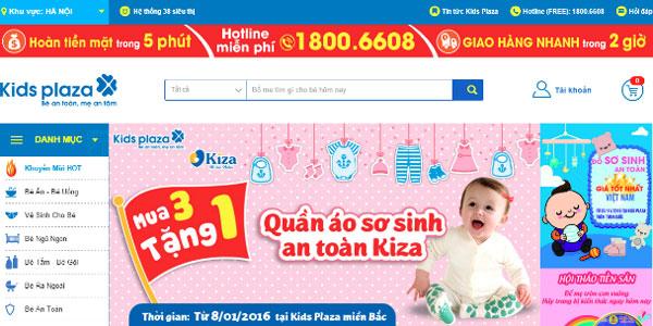Kids Plaza vừa ra dịch vụ đổi trả hàng trong vòng 45 ngày