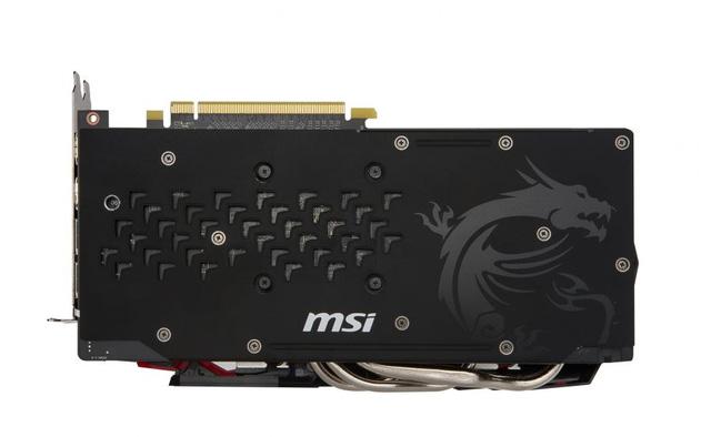 Hình ảnh về mặt trước, vỏ hộp và backplate của RX480 do AMD thiết kế.