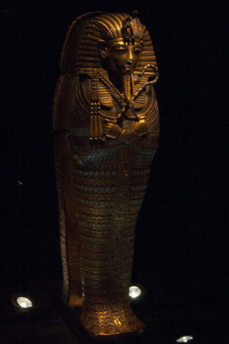 Quan tài của vua Tutankhamun