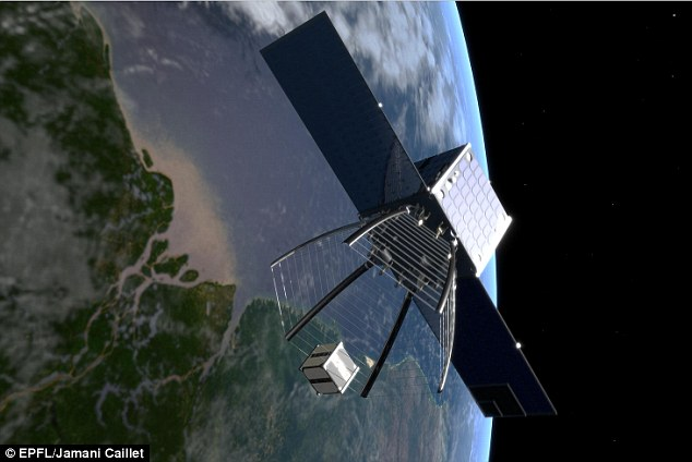 Vệ tinh dọn rác dự kiến sẽ lên quỹ đạo vào năm 2018.