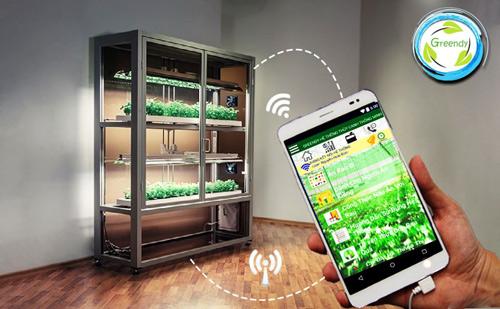 Người dùng có thể tương tác 2 chiều với hệ thống thông qua smartphone (Ảnh nhân vật cung cấp)