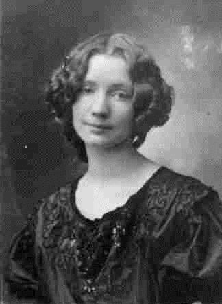 Bức hình vợ của Einar - Gerda Gottlieb.