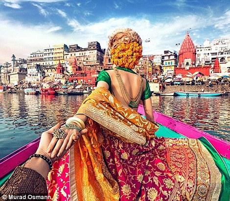 Bức ảnh chụp tại Varanasi