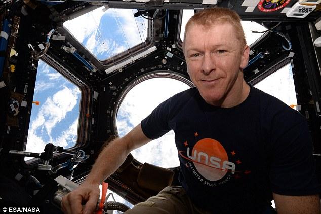 Phi hành gia Tim Peake.