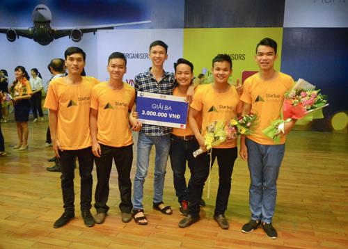 """Dự án đã giành giải ba tại Cuộc thi Ý tưởng khởi nghiệp """"Danang Runway Startup 2016"""" (Ảnh: Đoàn Lê)"""