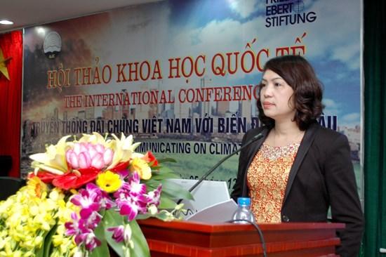 TS. Nguyễn Thị Tố Quyên, Phó trưởng khoa Xã hội học, Học viện Báo chí & Tuyên truyền.