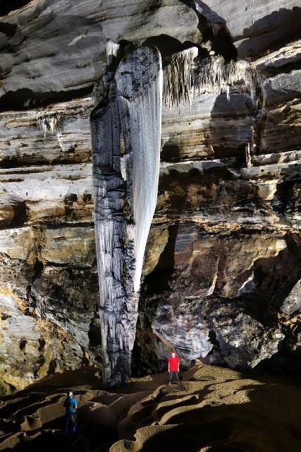 Hang Tiên 1. Ảnh đoàn thám hiểm hang động Hoàng gia Anh cung cấp/ Nhân dân online
