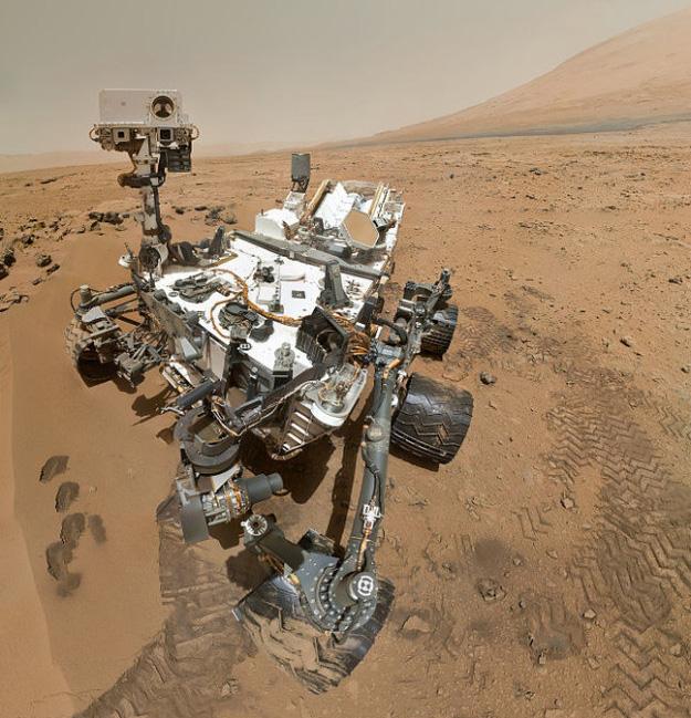 Curiosity - robot tự hành đời mới của NASA trên sao Hỏa