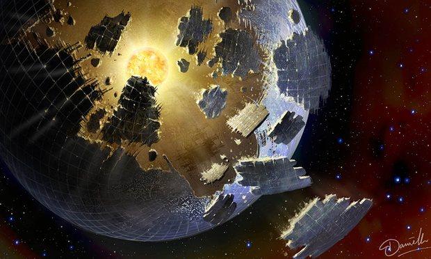 Dyson Sphere là một dạng cấu trúc khổng lồ bao bọc các ngôi sao nhằm gặt hái năng lượt phát ra từ chúng. Theo các nhà khoa học, hiện tượng kỳ bí cho thấy vật thể có đường kính bằng khoảng một nửa của ngôi sao, một điều không tưởng đối với một hành tinh. Nhưng lại là một điều không thể tránh khỏi khi những cấu trúc như thế này được xây dựng.