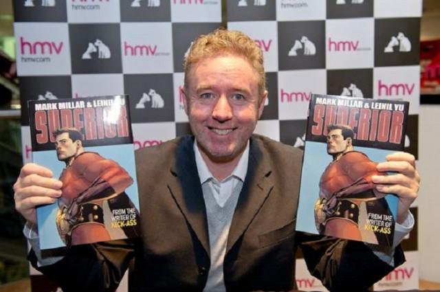 Mark Millar là tác giả nhận tước phong hiệp sĩ nổi tiếng