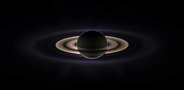 Hình ảnh sao Thổ do Cassini chụp vào năm 2015