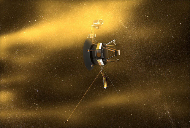 Voyager 1 - tàu du hành thể hiện tham vọng khám phá những nơi sâu thẳm trong vũ trụ