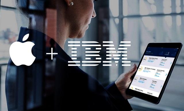 Với thương vụ hợp tác cùng IBM, Apple đã đặt được một chân vào thị trường doanh nghiệp.