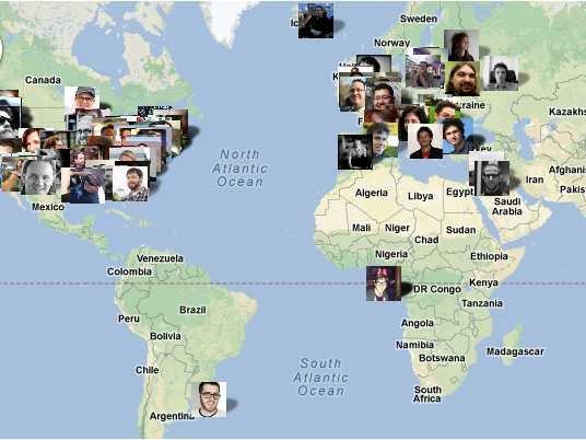 Nhân viên của Automattic ở khắp mọi nơi trên thế giới.
