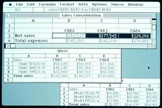 Bạn có biết rằng các phiên bản hoàn thiện đầu tiên của Word và Excel được dành cho Mac chứ không phải là Windows?