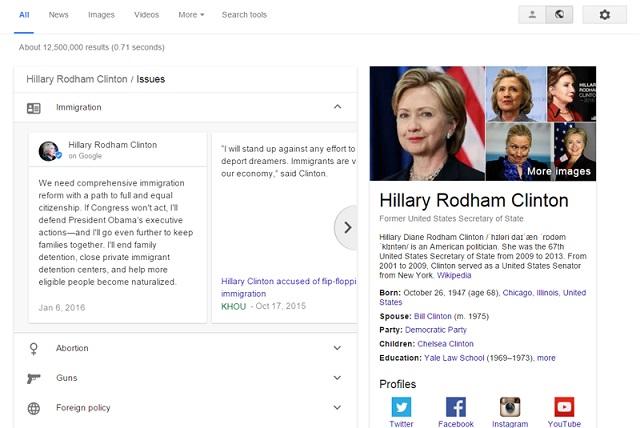 Hiến pháp Mỹ cho phép Google được thao túng các cuộc bầu cử!