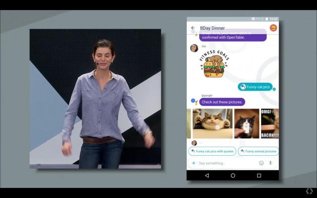 Màn ra mắt của Allo không bao gồm những tiếng trầm trồ thán phục như khi Microsoft làm mới Skype tại Build 2016.