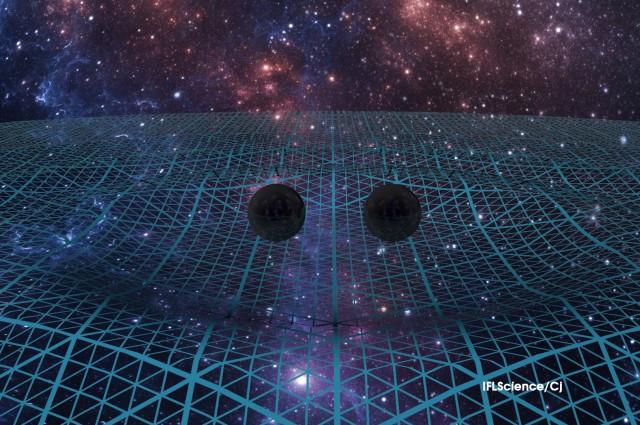 Mô phỏng sóng hấp dẫn mà các nhà khoa học tại LIGO quan sát được