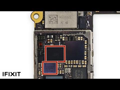 Hai chip Touch IC có tên U2402 Meson và Cumulus U2401 là nguyên nhân dẫn tới vấn đề trên những chiếc iPhone 6/6 Plus. Đây là vị trí của chúng trên bo mạch chủ iPhone 6. Ảnh ifixit