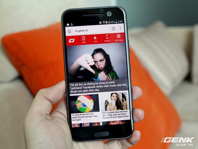 Chất lượng màn hình hiển thị trên HTC 10 sẽ là câu hỏi lớn