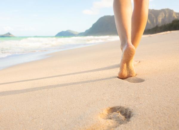 Đôi chân là tài sản quý giá mà tự nhiên ban tặng