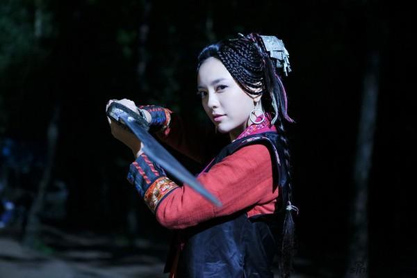 Lam Phượng Hoàng do Lữ Giai Dung thủ vai trong Tân Tiếu Ngạo Giang Hồ